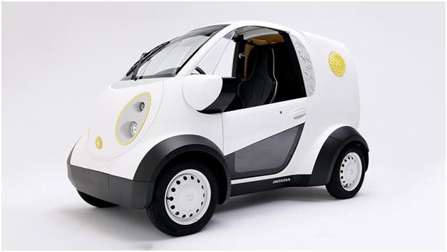 Компанией Honda было представлено транспортное средство, напечатанное на 3D принтере