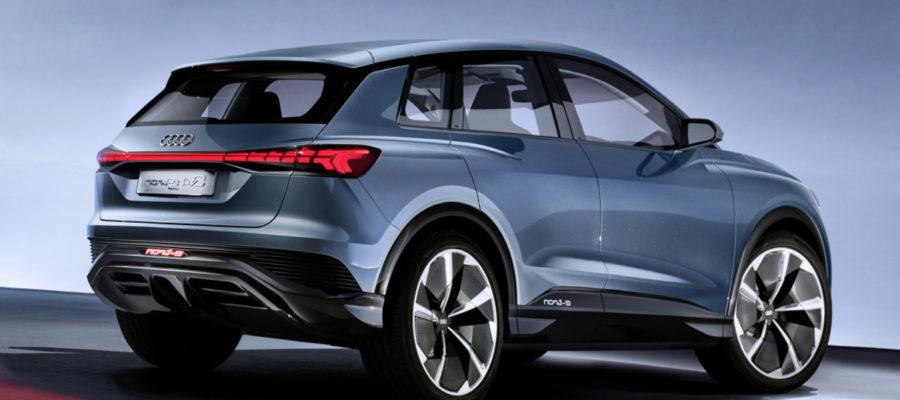 Новый электрический концепт от Audi - Q4 e-tron
