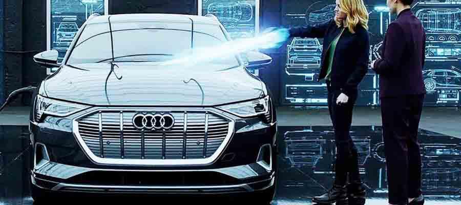 Audi Q4 e-tron и Мстители