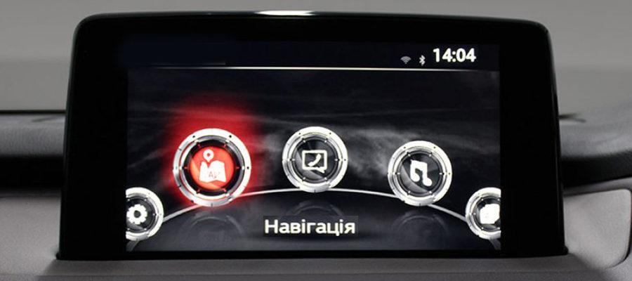 В автомобилях будет украинский интерфейс