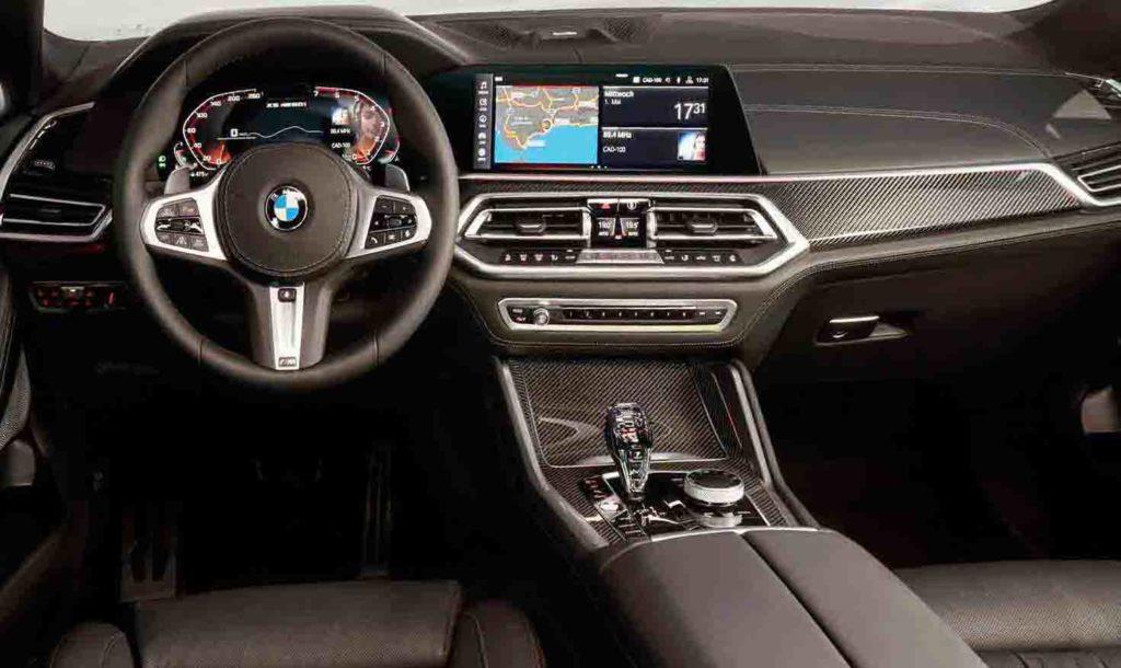 BMW x6 Live Cockpit с iDrive