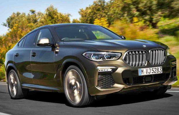 Свет и изящность BMW X6 M50i 2020