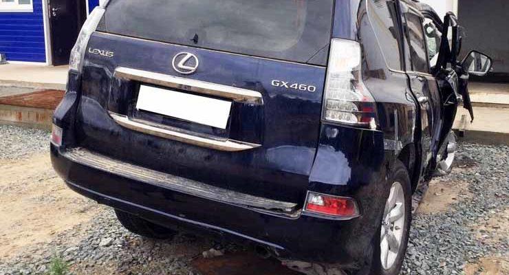 Lexus GX, 2016