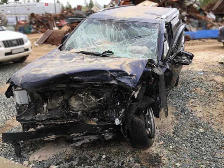 Битый Lexus GX, 2016