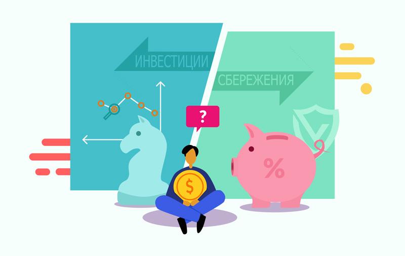 Сбережения и инвестирование